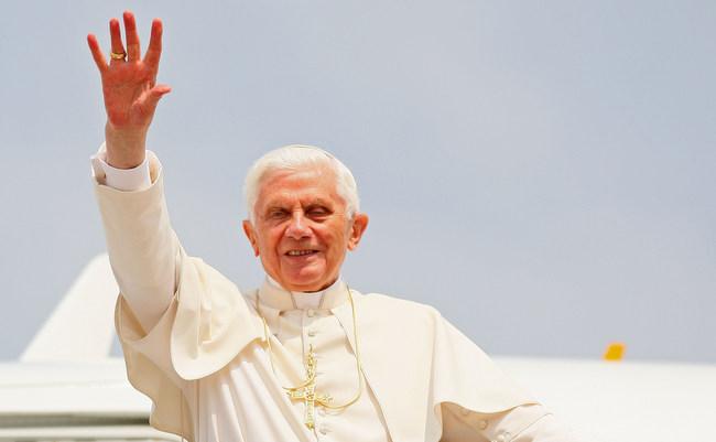 Govor Pape Benedikta XVI. U Hrvatskom narodnom kazalištu